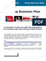 Start Up Business Plan Template OBT 13STB SBP T1!11!12 3