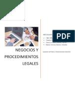 Negocios y Procedimientos Legales