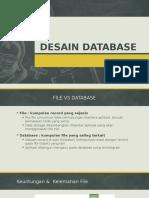 14 Desain Database