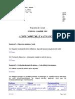 Corrige Examen Janvier 2008