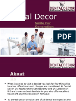 Dental Clinic in Kolhapur - Dental Decor