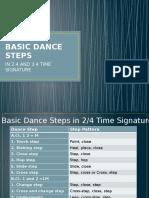 Basic Dance Steps