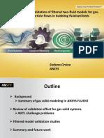 Brazil 2014ugm Validation of Filtered Two Fluid Models for Gasparticle