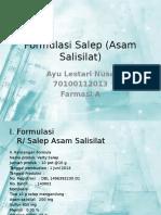 241358770 Formulasi Salep Asam Salisilat Pptx