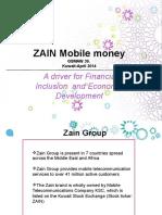 10 Zain Mobile Money