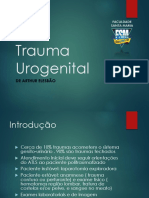 Trauma Urogenital-urologia