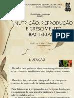 Crescimento Bacteriano UFFS-Ba