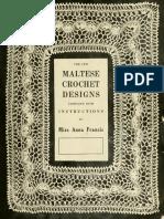 Maltese Crochet Designs