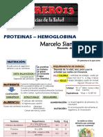 Proteinas Marcelo Siancas 04 02 2016 (Hemoglobina, Aminoacidos)