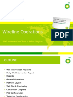 3. Wireline Operations