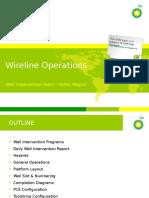 3. Wireline Operations