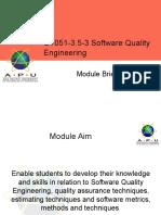 APU Lecture 1 - Module Briefing