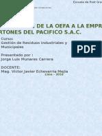 Empresa Cartones Del Pacifico s.a.c.