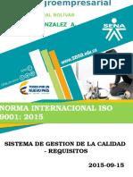 Diapositivas Iso 9001-2015