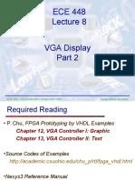 ECE448 Lecture8 VGA 2