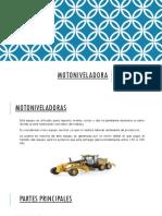 Maquinaria y Equipos Mineros (20) Motoniveladora