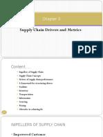 m3.0 Scm Drivers and Metrics