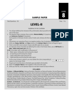 SOF Level 2 NSO Class 8