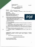 Literatura Argentina Regional - Curso Especial - P00 - 2011