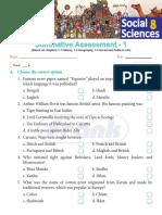 Class 8 Social Science Assessment 1