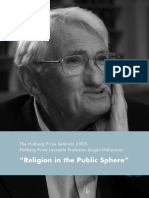 Religion in the Public Sphere - The Holberg Prize Seminar 2005