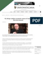 Un Obispo Católico Arremete Contra El Camino Neocatecumenal