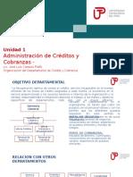 Unidad 2 Organizacion Del Departamento de Crédito y Cobranza