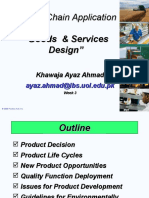 Week 3 SCA (Product & Service Design)