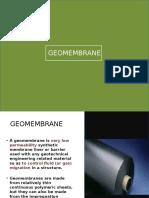 Geo Membrane