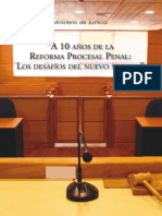 Libro 10 Anos de La Reforma Procesal