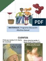 Materiales Programa Educación Afectiva-Sexual.
