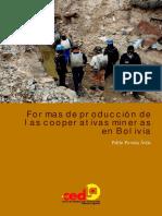 Formas de Produccion de Las Cooperativas Mineras en Bolivia Pablo Poveda Cedla