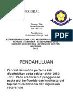 Dermatitis Perioral Ppt