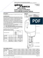 AEL5 Series Electric Linear Actuators for DN15 to DN100 Control Valves-Technical Information