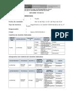 11. Modelo de Informe de Asistencia Técnica de Equipo Administrativo