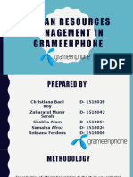 Human Resources Management in Grameenphone