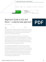 Beginner's Guide to ALE and IDocs – a Step-By-step Approach