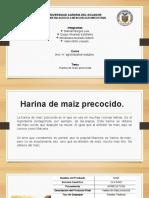Harina de Maíz Precocida. (1)