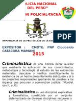 Importancia de La Proteccion de La Escena Del Crimen