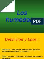 Significado de Humedales