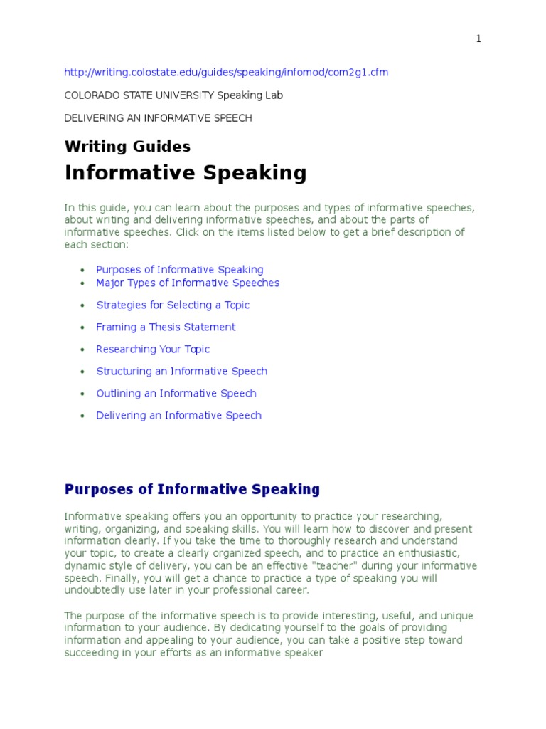 unique topics for informative speeches List of funny informative speech topics ideas just because of having no hint about funny speech topic and interesting speech topics for college.