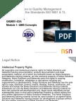 Module 1 QMS Concepts