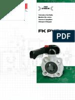 FFKOA FK FIP Industiral PP ABS Plastic Butterfly-Valves