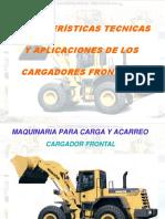 Curso Aplicaciones Sistemas Cargadores Frontales Partes Componentes Estructura Cabina Operacion Cucharones