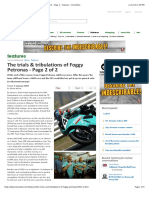 The Trials & Tribulations of Foggy Petronas - Page 2 of 2 - Page 2 - Features - Visordown