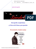 Todo Musica_ Sandro 47 Discos, Completa Discografía