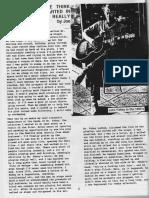 John Fahey Feminist Baseball Interview