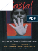 George a. Collier, Elizabeth Lowery Quaratiello-Basta!_ Land and the Zapatista Rebellion in Chiapas-Food First Books (2005)