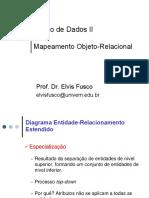Mapeamento Banco de Dados O R