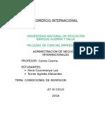 Petroleo Final Comercio Internacional